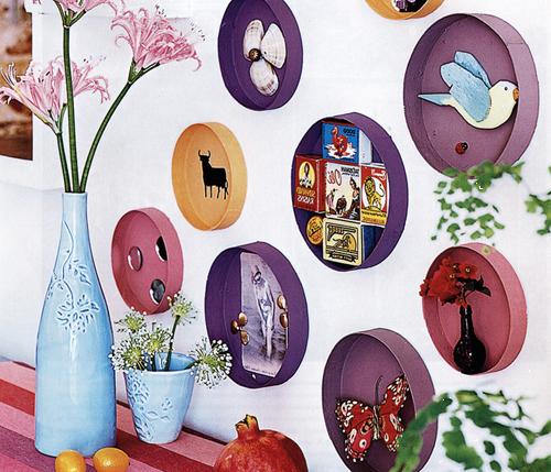 Декорирование предметов интерьера своими руками: идеи мелочей с фото
