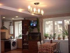 Функциональное зонирование однокомнатной квартиры фото