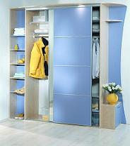 Мебель в прихожую угловые и встроенные шкафы-купе