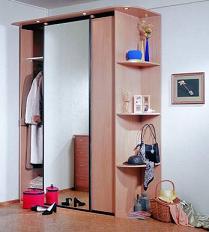 Мебель в прихожую угловые и встроенные шкафы-купе фото