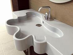 Раковины для ванной – стеклянные, подвесные, тюльпан, круглые, накладные, врезные