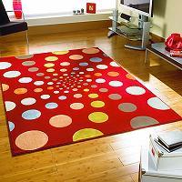 Современные ковры в интерьере комнаты