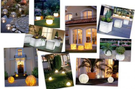 Светильники для сада фото