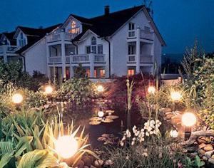Светильники для сада горизонтального освещения фото