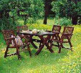 Выбираем материалы для садовой мебели