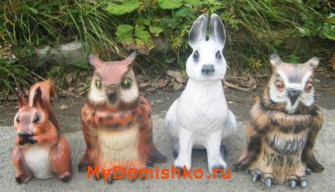 Садово-парковые скульптуры из керамики