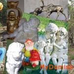 Садовые и садово-парковые скульптуры фото