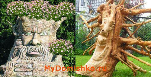 Корнепластика и деревянная скульптура фото