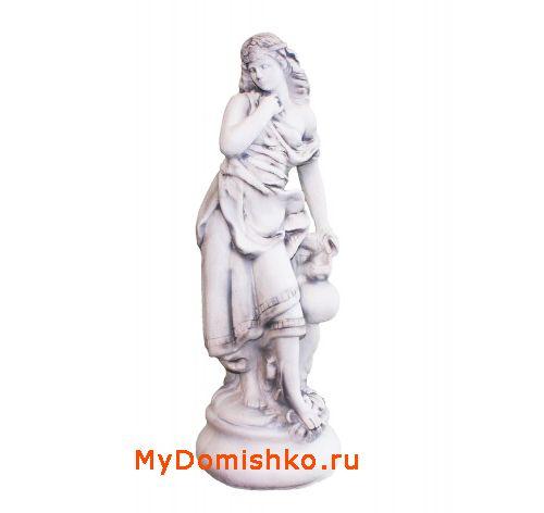 Садовая скульптура из гипса Дева Милена фото