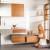 Настенные и напольные плитки серии Unicolor способствуют индивидуальности – основной формат белого глянцевый или матовый может быть дополнен естественными тонами и достойным декором фото