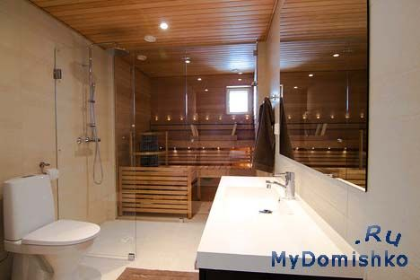 Фото Все большее количество людей превращают ванную комнату в расслабляющее пространство и оснащают саунами