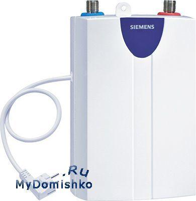 Проточный водонагреватель Siemens